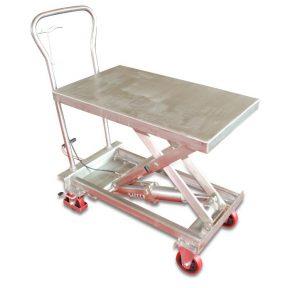 BSS10 rozsdamentes acél emelőasztal
