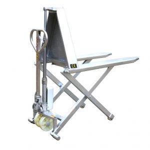HSG540M rozsdamentes acél váz magas emelésű ollós targonca