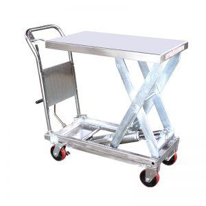 YSG35D rozsdamentes acél emelőasztal